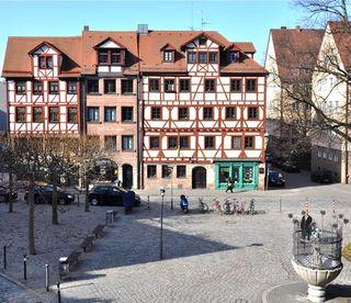 Altstadtfreunde feiern Fest am Unschlittplatz - Nürnberg