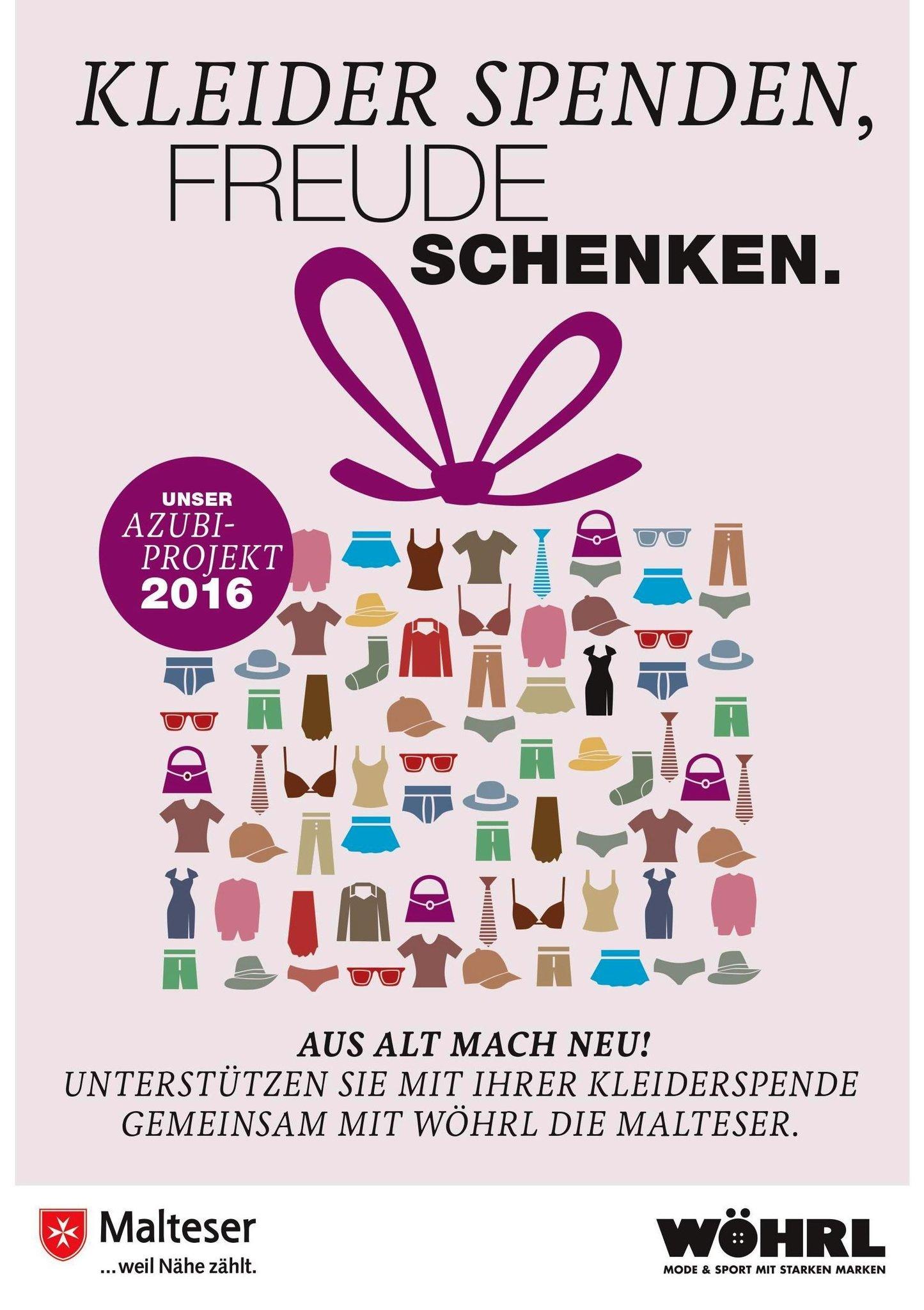 Kleider gespendet – Freude geschenkt - Nürnberg