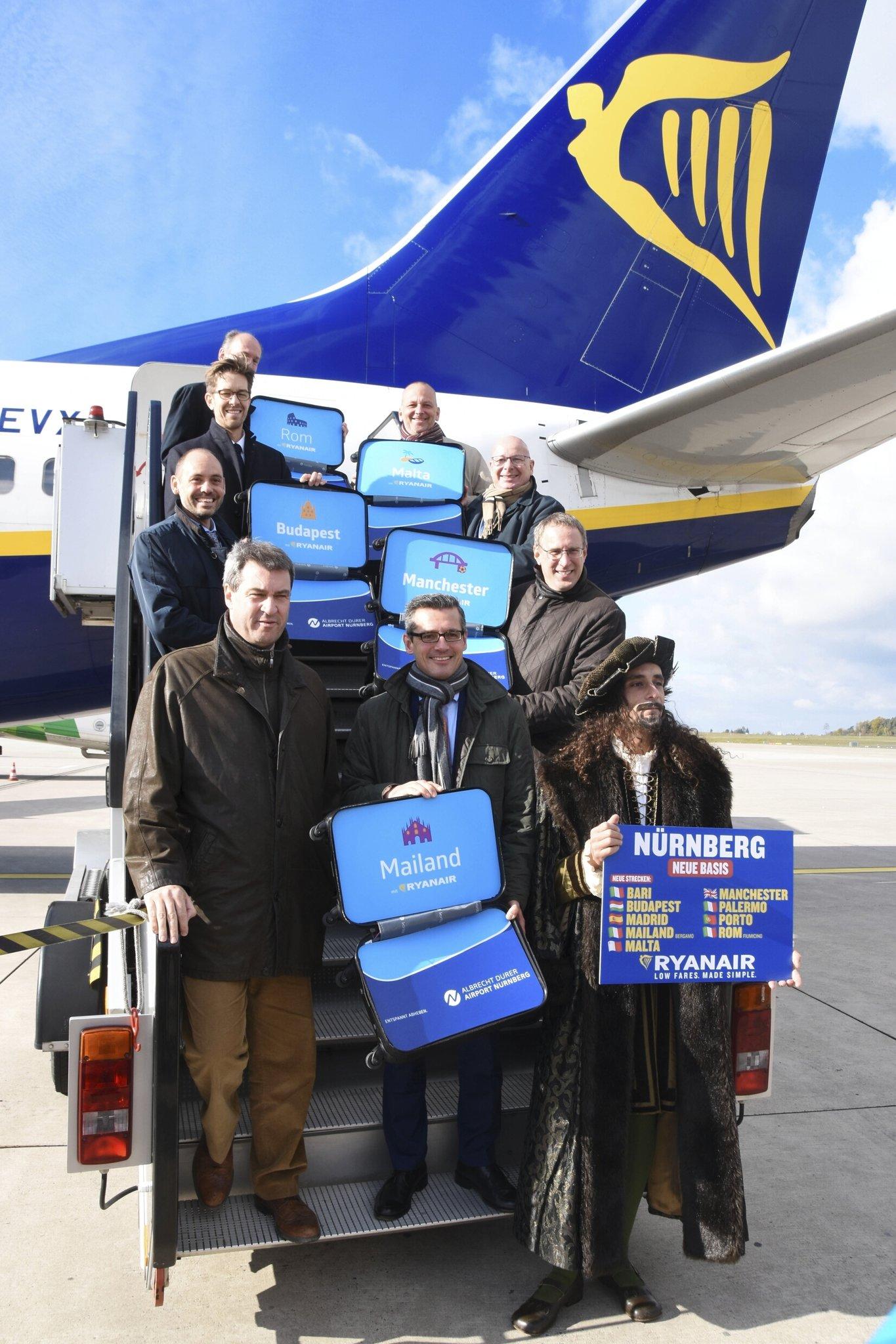 Ryanair Eröffnet Neue Basis In Nürnberg Nürnberg