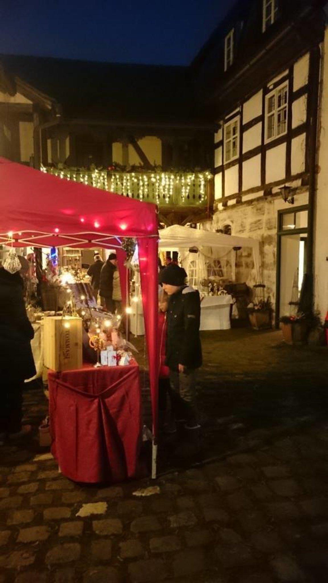 Romantischer Weihnachtsmarkt Im Hotel Und Restaurant Der Schwan