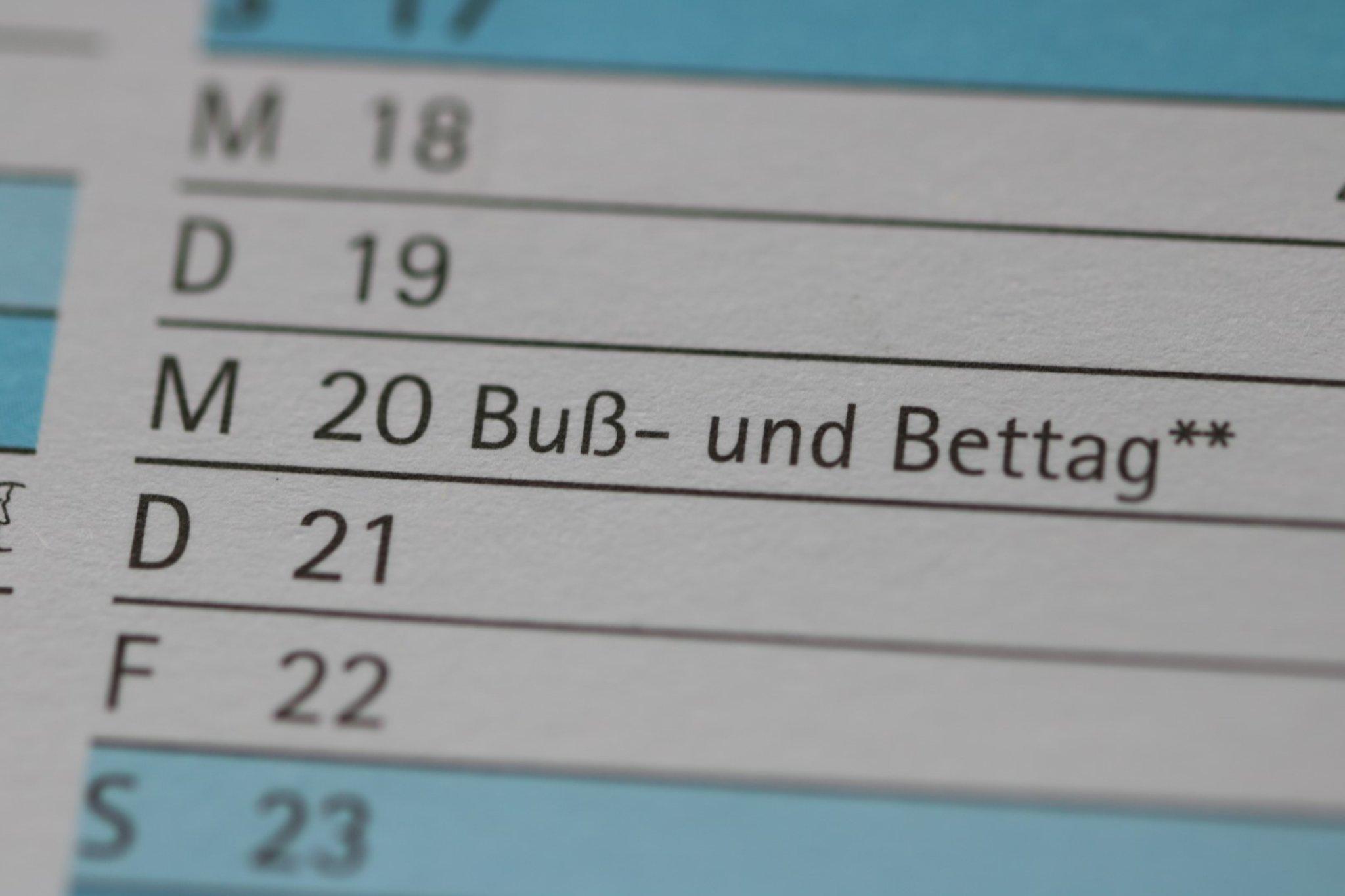 Buß Und Bettag Wo Feiertag In Deutschland