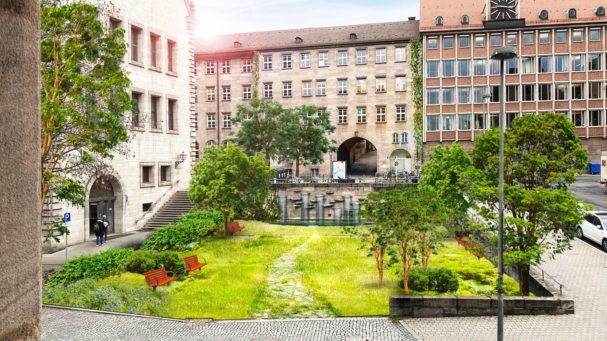 Riesenflohmarkt Quelle Parkplatz Nürnberg