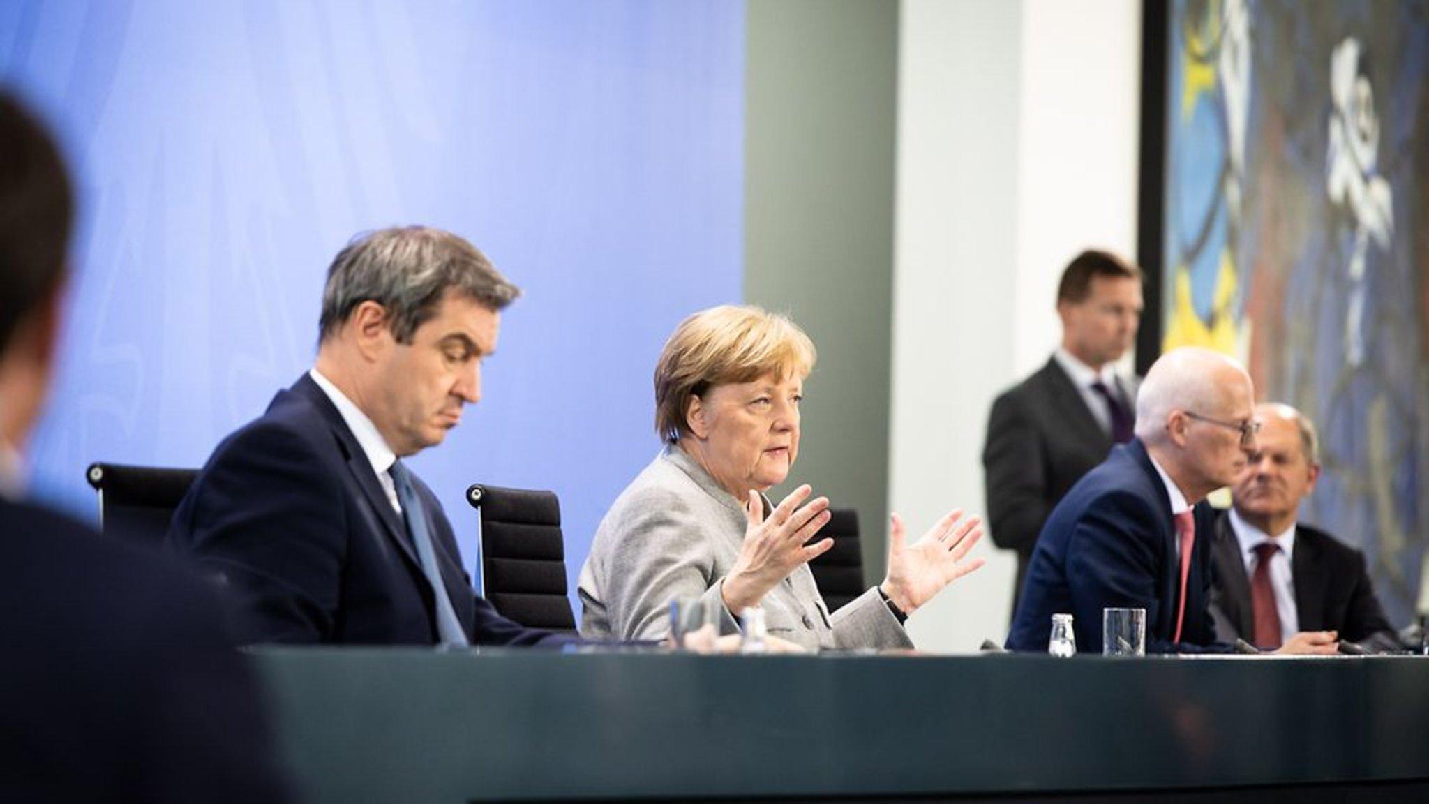 Pressekonferenz Söder Morgen
