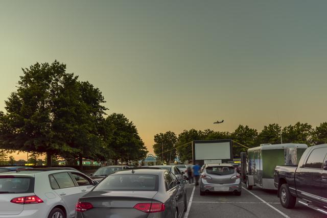 Autokino Flughafen Nürnberg
