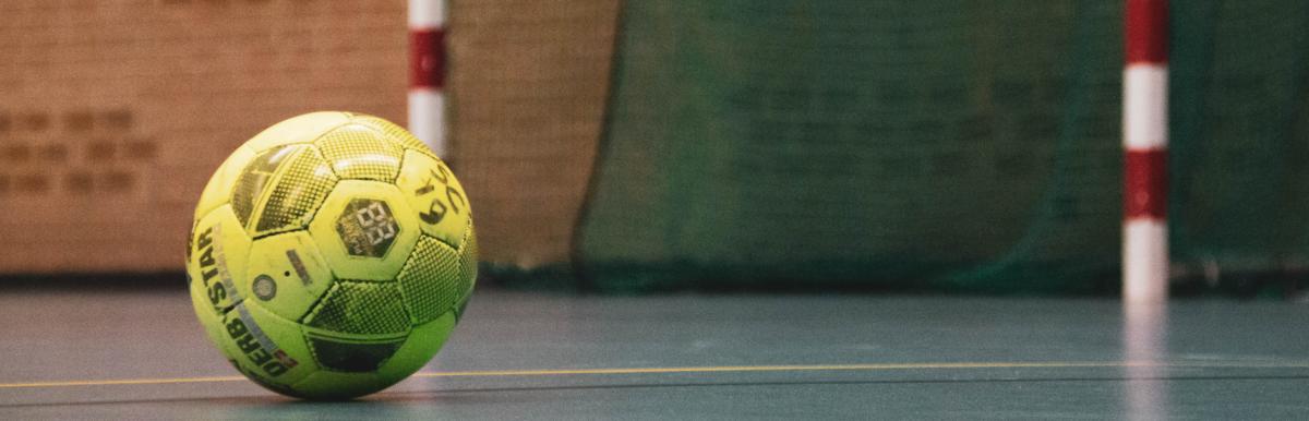 Handball vor Netz